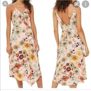 Topshop floral wrap tank dress new with tags 6